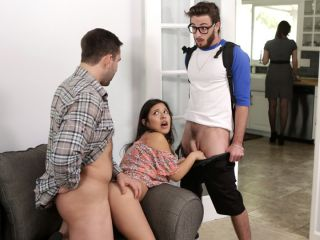 Jasmine Gomez Step Family Threesome
